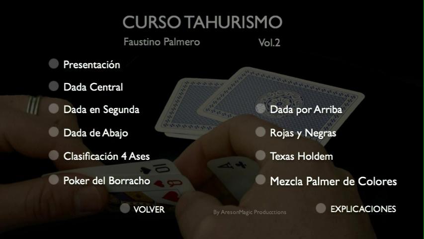 Curso Tahur Faustino Palmero DVD temario