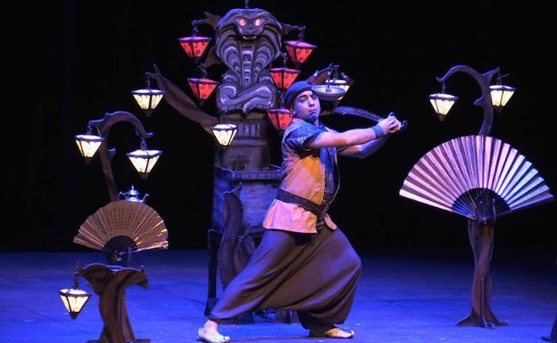 Ilusionismo hoy: El acto - Acto de magia