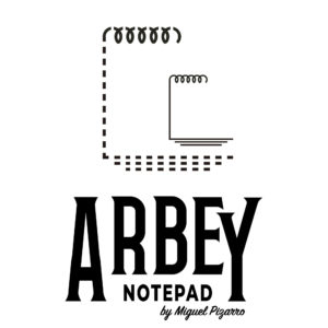 Arbey Notepad close up
