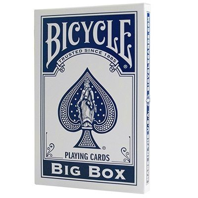 Cartas Bicycle – Jumbo, Azul