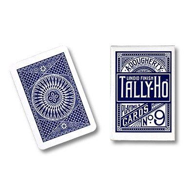 Cartas Tally Ho – Circulo, Azul
