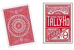 Cartas Tally Ho – Circulo, Roja